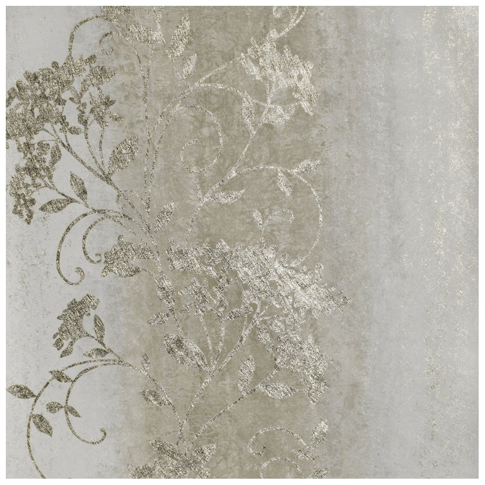 muriva sienna trail ombre silver and gold metallic
