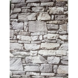 Stone Effect Natural Wallpaper 601514