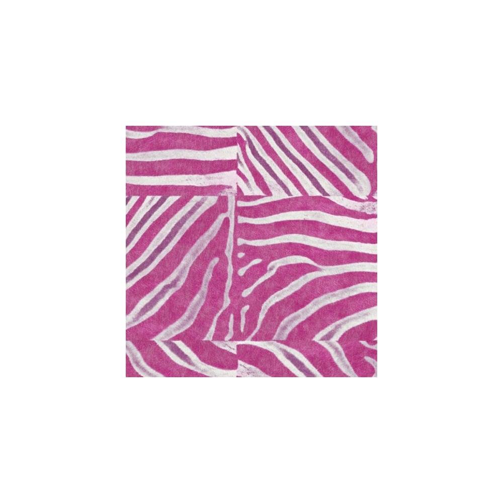 African Queen Pink Zebra Animal Print 498523