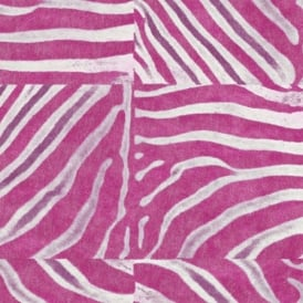 African Queen Pink Zebra Animal Print 498523