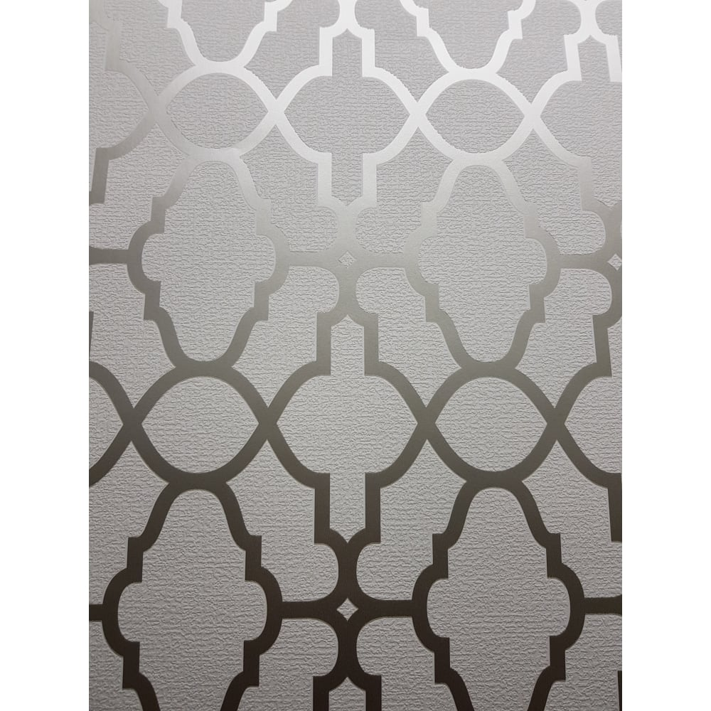 Rasch Casablanca Cream And Gold Geometric Wallpaper 309317