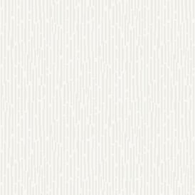 Chic Cream And White Glitter Match Stick Stripe Metallic Wallpaper 317510