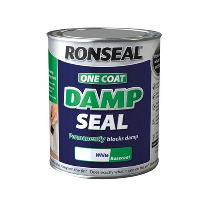 Ronseal One Coat Damp Seal Paint 250ml