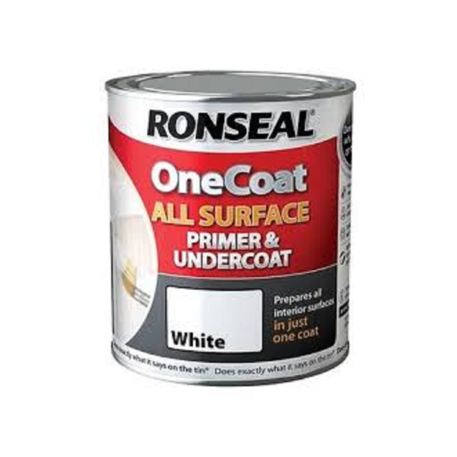 Ronseal White All Surface Primer And Undercoat 750ml