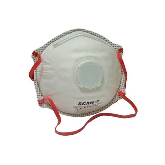 Scan Moulded Disposable Valved Mask FFP3