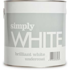 Simply 2.5L Brilliant White Undercoat Paint
