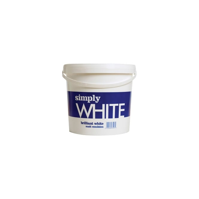Simply 2.5L Matt White Emulsion Paint